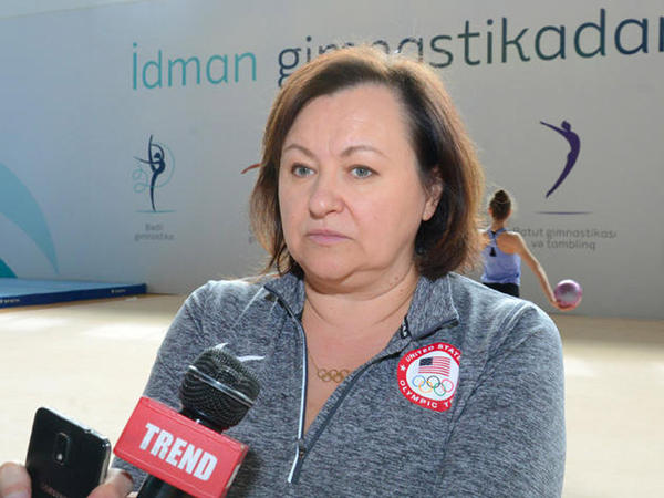 """Məşqçi: """"Dünya Kuboku amerikalı gimnastlar üçün çox vacib yarışdır"""" - FOTO"""