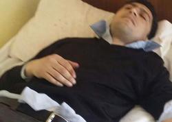Müəllim hoteldə məktub yazıb damarlarını kəsdi - FOTO