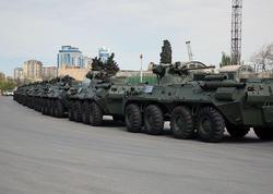 Rusiyadan ölkəmizə müasir silah və hərbi texnika gətirildi - VİDEO - FOTO