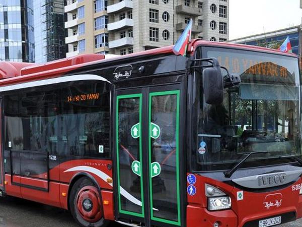 Avtobusla sərnişindaşıma xidmətlərinə dair yeni tələb müəyyənləşdi
