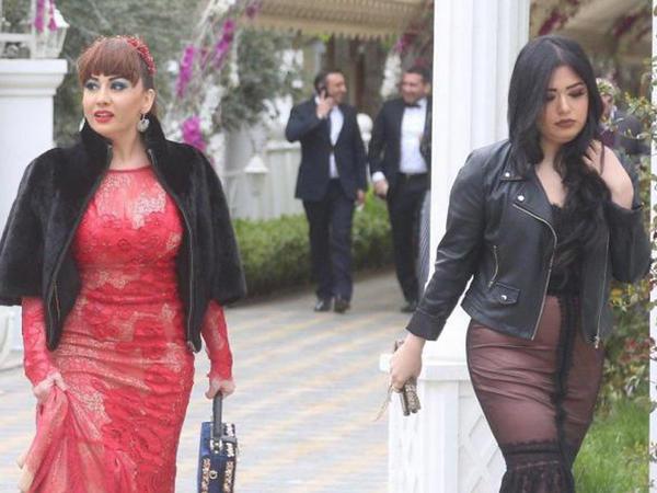 Fatimə qızı ilə toyda - FOTO