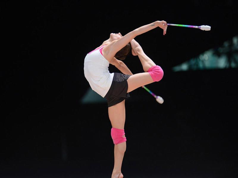 Bakıda bədii gimnastika üzrə Dünya Kuboku yarışları başladı