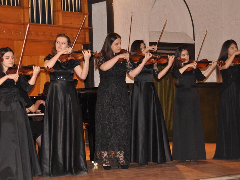 Filarmoniyada tələbələrin konserti baş tutdu - FOTO