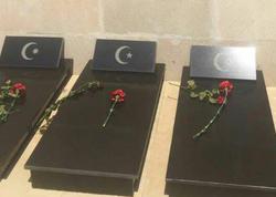 Azərbaycanda evin həyətindən türk şəhidlərinin məzarı tapılıb - FOTO