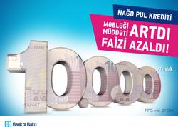 """""""Bank of Baku""""-dan 10.000 AZN-dək Nağd Pul Krediti!"""