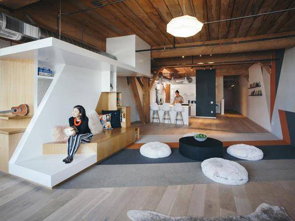Los-Ancelesdə loft emalatxana - FOTO