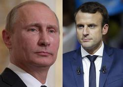 Putinin Makronla görüşünün vaxtı açıqlandı