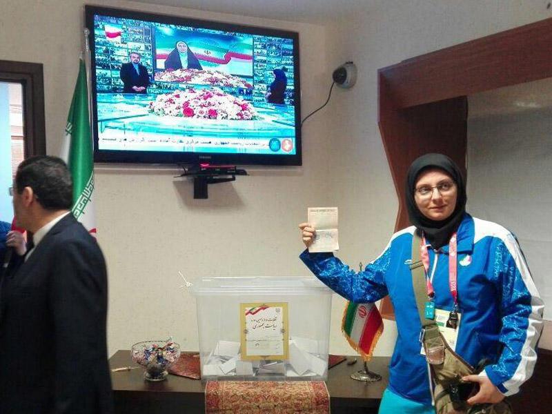 İranlı idmançılar Bakıda səs verdirlər - FOTO