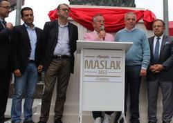 Türk milyarder Azərbaycan heykəltəraşından danışdı - FOTO