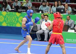 IV İslam Həmrəyliyi Oyunları çərçivəsində Bakıda uşu üzrə yarışların finalı - FOTO