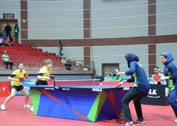 Bakıda stolüstü tennis üzrə yarışların finalı keçirilir - FOTO