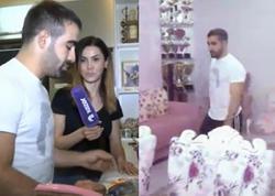 Rafael Ağayevin yeni evindən görüntülər - VİDEO