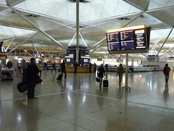 London aeroportunda terror aktı törətməkdə şübhəli bilinən şəxs saxlanılıb