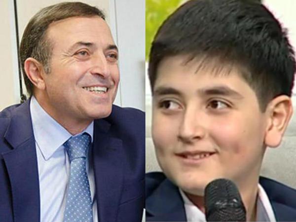 Xalq artisti verilişə karateçi oğlu ilə gəldi - VİDEO