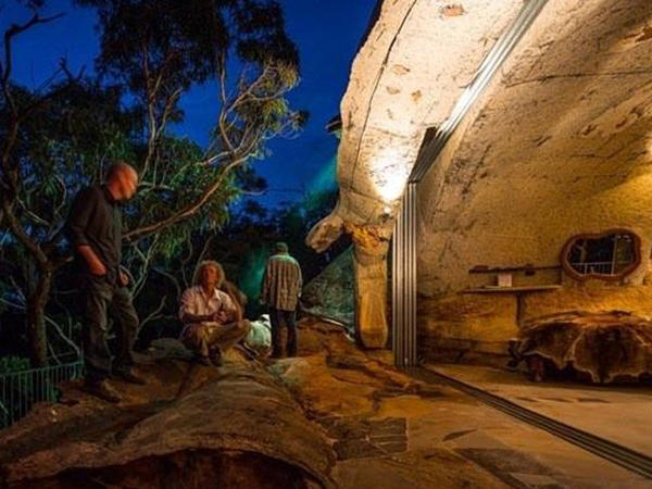 Mağaradan malikanə düzəltdi - Bir gecə üçün 950 dollar kirayə pulu alır - FOTO