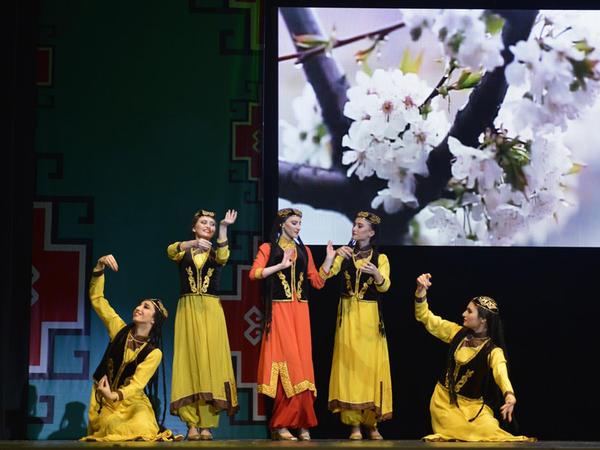 """Musiqili Teatrda """"Səmayi-şəms"""" rəqs-tamaşası nümayiş olunub - FOTO"""
