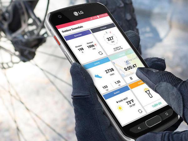 Təhlükəsiz LG X Venture smartfonu təqdim olundu