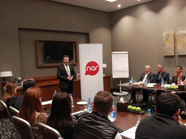 """""""Nar"""" abunəçiləri arasında keçirilən lotereya qaliblərinə mükafatlar təqdim edildi"""