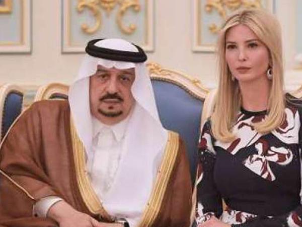 Ərəb biznesmen Trampın evli qızına elçi düşdü