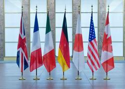 G7 liderləri dövlətlərin ərazi bütövlüyünə riayət olunmasının tərəfdarıdırlar