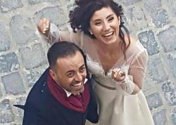 Azərbaycanlı aparıcı italyana ərə getdi - FOTO