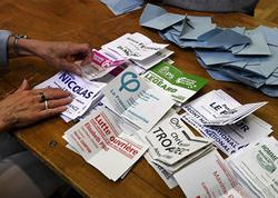 Makronun hərəkatı Fransada parlament seçkilərinin ilk turunda qalib gəlib