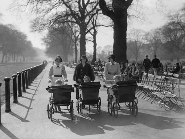 1930-cu illərin çılğın, qara-ağ Londonu - FOTO
