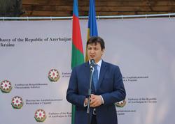 Kiyevdə Azərbaycan-Ukrayna Xalqlarının Dostluq Parkı açıldı - FOTO