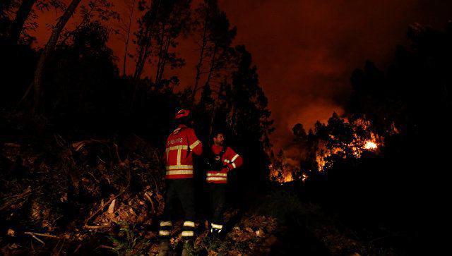 Portuqaliyada meşə yanğınlarında ölənlərin sayı 63 nəfərə çatıb