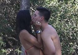 Samir sevgilisi ilə öpüşərkən göründü - FOTO