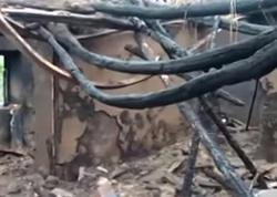 6 otaqlı ev yanıb - VİDEO - FOTO