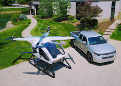 Hibrid sərnişin dronu hazırlandı