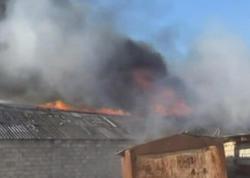Cəlilabadda yanan bazarın görüntüləri yayıldı - VİDEO - FOTO