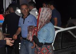 Maşın inəklə toqquşdu - 5 yaralı  - YENİLƏNİB - VİDEO - FOTO