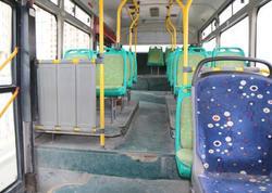 Bakıda tələblərə cavab verməyən avtobuslar xətdən çıxarıldı - FOTO