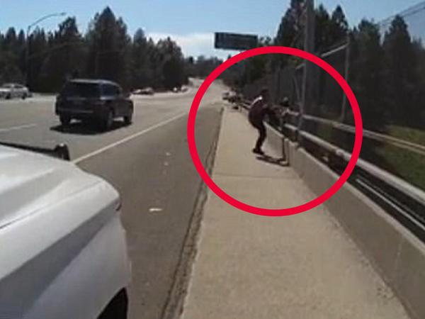 """Polis onu intihardan qurtardı: """"Etmə belə!"""" - VİDEO - FOTO"""