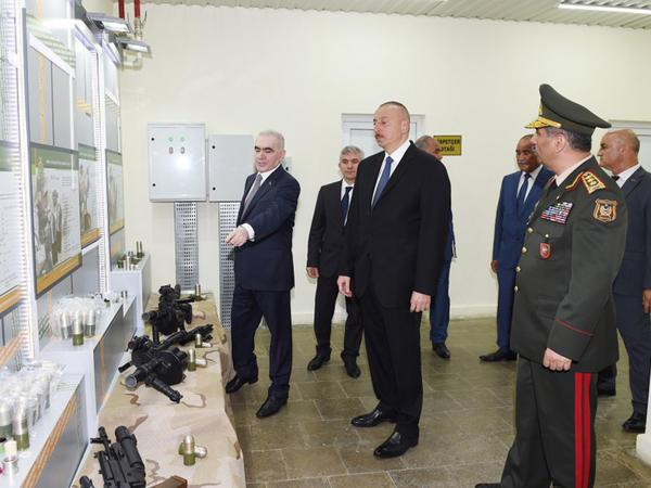 Prezident İlham Əliyev Şirvanda səfərdədir - FOTO