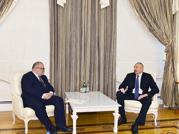 Prezident İlham Əliyev Gürcüstanın Baş nazirinin müavinini qəbul edib
