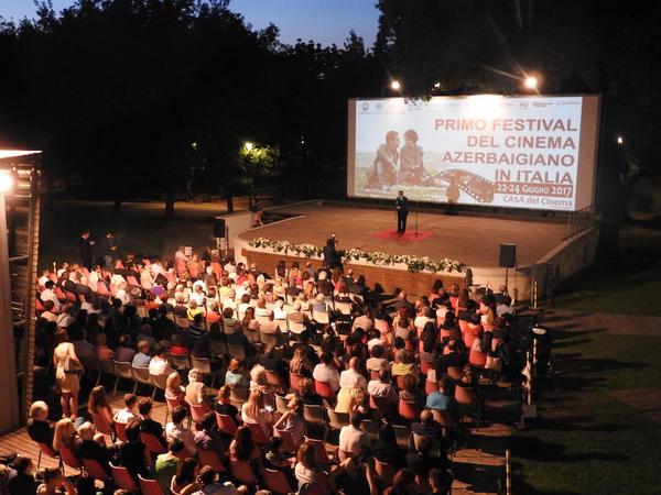 """İtaliyada birinci Azərbaycan Film Festivalı """"Əli və Nino"""" filmi ilə açılıb - FOTO"""
