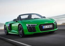 Audi-nin ən sürətli kabrioleti - FOTO