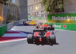 Formula 2 yarışlarında ilk QƏZA baş verdi - FOTO