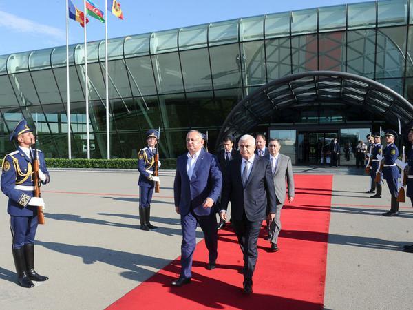 Moldova Prezidentinin Azərbaycana rəsmi səfəri başa çatdı