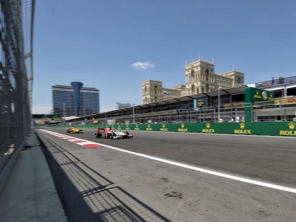 """Formula 2 yarışları başladı - <span class=""""color_red"""">Qəzalar var</span>"""