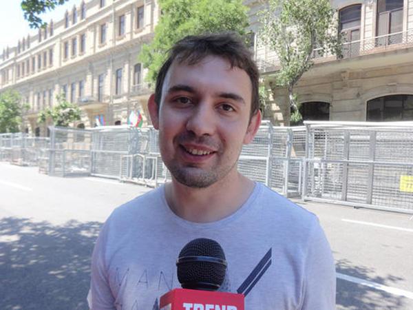 """Formula 1-in qonağı: """"Bu yarışın ev sahibliyi edən ölkə üçün böyük əhəmiyyəti var"""" - FOTO"""