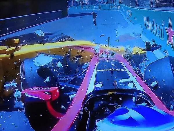 Bir neçə pilot Formula 2 yarışlarında qəza törətdi - FOTO