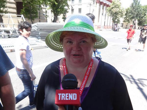"""""""Yarışları izləmək üçün tamaşaçılar üçün rahat şərait yaradılıb"""""""