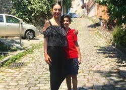 Könül oğlu ilə gəzintidə - FOTO