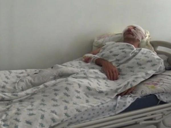 Noxud oğrularını iş başında tutan kişi ölümcül döyüldü - VİDEO