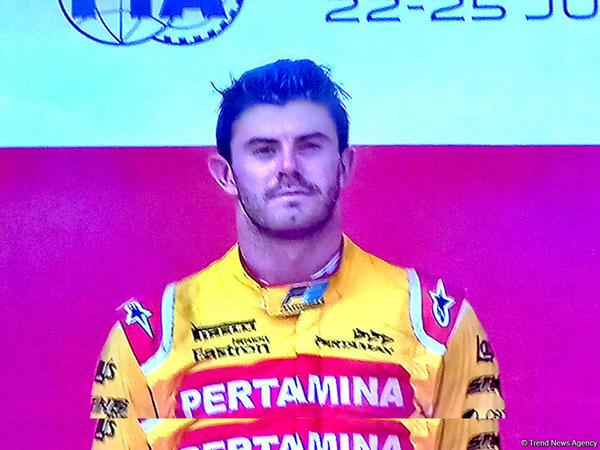 """Bakı """"Formula-2""""nin qalibi bilindi - FOTO"""