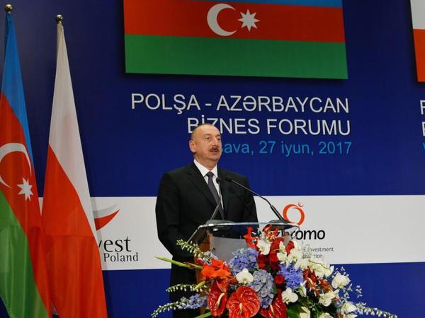 """Prezident İlham Əliyev: """"Azərbaycan Avropa bazarlarına neftin çatdırılmasında artıq etibarlı tərəfdaşdır"""""""